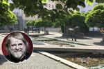 Park Petra Šabacha: Bezejmenné náměstí v Dejvicích se slavnostně zasvětilo slavnému spisovateli