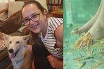 Po rybí pedikúře přišla o půl chodidla! Infekce požírala kosti i maso