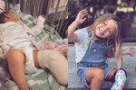 Malá slečna, která zaslouží obdiv: Přišla o nohu a protézu nosí jako módní doplněk!