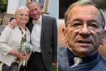 Doyen české politiky Jaroslav Kubera (†72) by slavil narozeniny. Žena byla ráda, že doma nekouří