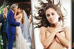 Svatba sexy upírky z Buffy: Vdala se za o 17 let staršího muže!