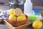 Zapomeňte na chemii! S úklidem vám pomůže citron, ocet i cola