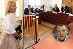 Soud mezi Paroubkovými: Petra zuřila, pak se culila! Rozsudek Jiřího nepotěší