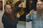 Na smrti malíře Vojkůvky (†71) vydělávají statisíce. Legendární umělec zemřel na rakovinu mozku