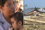 Batole zázračně přežilo 24 hodin v troskách po zemětřesení. Roční holčičku našli mezi mrtvolami!