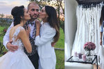 Bučková po rozchodu s Vágnerem: Oblékla bílou a šla na svatbu