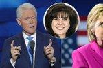 """""""Nebyl to důvod k rezignaci."""" Clintonová po letech brání manžela kvůli aféře se stážistkou"""