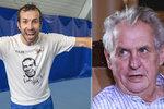 Po snowboardistce i tenista: Medaili od Zemana dostane Radek Štěpánek