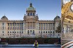 Novinka v Národním muzeu: Budovy propojí nový orientační systém, kovové panely splynou s prostorem