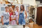 Šárka s dětmi žijí v ruině kvůli dluhům manžela. Pomůže Pergnerová?