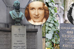 30 let po smrti Nataši Gollové (†76): Leží v hrobě vedle utajené sestry