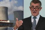 Na nový blok v Dukovanech půjčí ČEZu miliardy stát. Babiš vysvětlil důvody