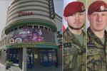Vojáci z Afghánistánu se pro padlé rvali na diskotéce, schytal to i policista
