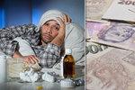 Polepšíme si: Peníze za první 3 dny nemoci a víc za úraz v práci!