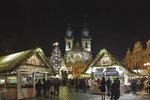Vánoční trhy v Praze patří k nejkrásnějším na světě. Kdy a kde budou?