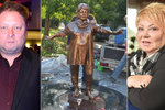 Nahradí zpackanou sochu Špinarové (†65) jiná? Syn doufá a shání peníze