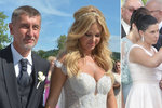 Svatba Andreje Babiše s Monikou: Na Čapím hnízdě ukázal celou rodinu... i dceru Adrianu