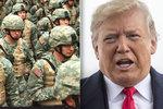 Vojáci mají povoleno migranty střílet, oznámil Trump. Hrozí uzavřením hranic