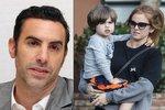"""Syn """"Borata"""" Sachy Barona Cohena se tatínkovi moc nepodobá. Naštěstí!"""