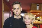Veronika Žilková se synem Vincentem