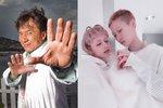Devatenáctiletá dcera Jackieho Chana se vdala za svou o dvanáct let starší přítelkyni
