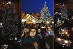 Problémy při rozsvícení stromu:  Chloubu Vánoc rozblikali až napotřetí a Staroměstské náměstí uzavřela policie