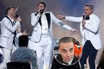 Že by comeback? Robbie Williams opět po boku kolegů z Take That!