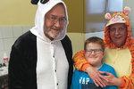Autista Adámek (11) se bál zubaře: Zoubek vyvrtala panda s tygříkem