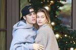 Justin Bieber se na ulici muchloval s Hailey Baldwin: Že by konec slziček na veřejnosti?