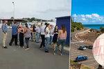 Dovolenkové ráje v ohrožení: Po silném zemětřesení přišly dvoumetrové vlny