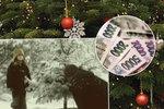 Táta z vánoční reklamy na Kofolu měl kliku. Divočák ho zachránil od tučné pokuty
