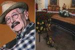 """Poslední rozloučení s """"dědou Lubinem"""": Pohřeb Kostelky (†91) musí opakovat!"""