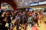 Vlaky v Německu zastavila stávka. Radka po kolapsu metra sedla v Berlíně na autobus