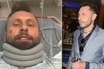 Moderátor Tuna dostal nakládačku a skončil v nemocnici. Kvůli písničce na přání