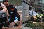 Sebevražda a pokus o vraždu na Hájích: Muž střílel po expartnerce, zemřel v nemocnici