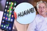 "Hrad propaguje Huawei, ""fasuje"" mobily za miliony. Expert: Hrozba pro stát"