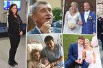 Svatby, těhotenství i narozené děti. Jak rok 2018 změnil politikům životy?