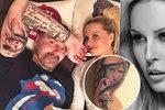 Řepka s novým tetováním sklidil výsměch! Hrubka a (ne)podoba jeho holky s Krainovou