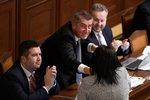 Poslanci schválili rozpočet. Obědy zdarma nebudou, komunistům ale vláda vyšla vstříc