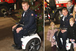Úraz mu změnil život: Hasič Martin (40) nasazoval krk pro ostatní, pak ochrnul. Teď dostal speciální vozík