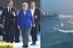 """Macron s Merkelovou hřímají společně proti Rusku: """"Propusťte uvězněné námořníky"""""""