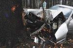 U Benešova havarovalo auto, zraněný je spolujezdec i malé dítě