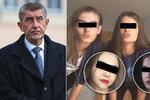 """Babiš: Smrt pěti dívek (†15) při únikovce je tragédie. """"Sám jsem otec,"""" truchlí Zeman"""