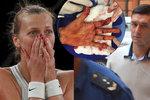 Drama u soudu v kauze Kvitová: Žondru prý poškodili při rekognici, tenistka při tom plakala