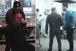 Nové záběry ze rvačky učitelů: Zapojil se i fyzicky disponovaný rodič!