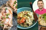 Inspirace na snídani, oběd i večeři! Nový vzorový jídelníček podle Petra Havlíčka