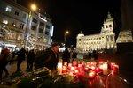 PŘÍMÝ PŘENOS: Před 50 lety se upálil Jan Palach. Prahou prošel vzpomínkový průvod světel