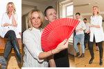 Zchvácená Ivana Chýlková na tanečním tréninku! První adeptka do StarDance?