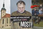 Pravda o otočeném kostele v seriálu MOST!: Výmysl opilého faráře, nebo dílo komunistů?