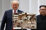 Kim dál zbrojí, utajenou základnu ukázaly satelitní snímky. Ovlivní to summit s Trumpem?